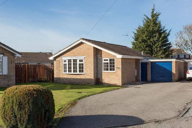 Thumbnail Bungalow for sale in Pasture Close, Strensall, York