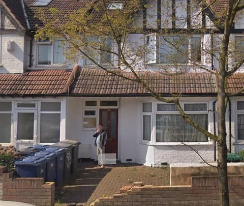 Thumbnail Terraced house to rent in Booth Road, London