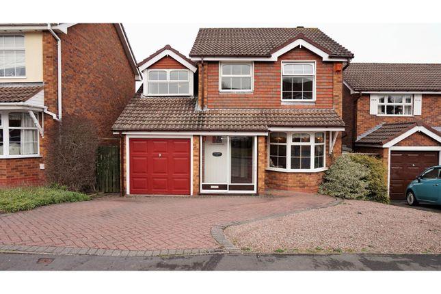 Thumbnail Detached house for sale in Doran Close, Halesowen