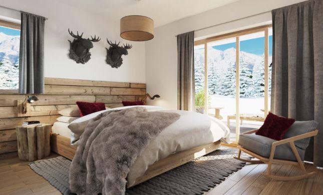 Example Bedroom of Les Carroz-D'araches, Haute Savoie, France