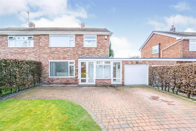 3 bed semi-detached house for sale in Alpraham Crescent, Upton, Chester CH2