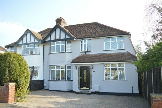 Thumbnail Semi-detached house to rent in Walsingham Gardens, Stoneleigh, Epsom