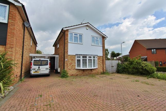Thumbnail Detached house for sale in Turpin Avenue, Romford