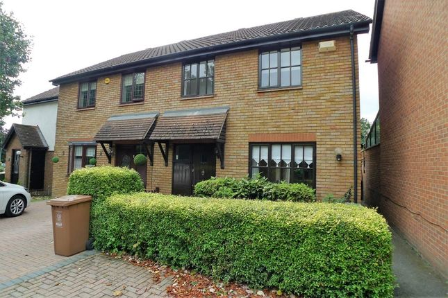 Thumbnail End terrace house to rent in Larch Grove, Sidcup