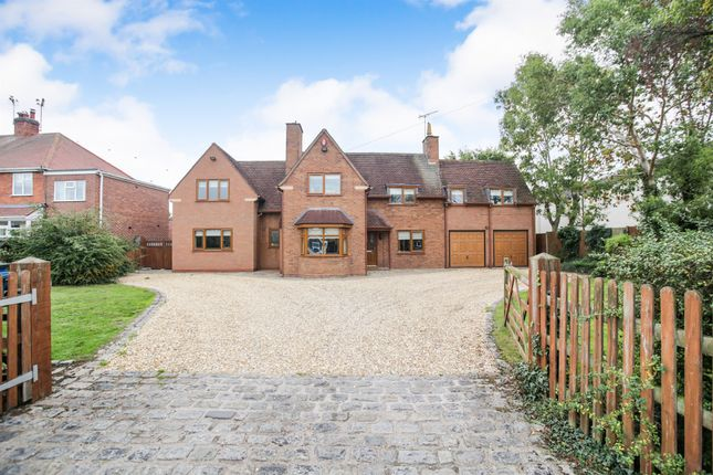 Thumbnail Detached house for sale in Wellfield Road, Alrewas, Burton-On-Trent