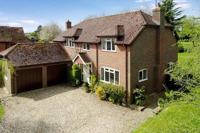Thumbnail Detached house for sale in Winterbourne, Newbury