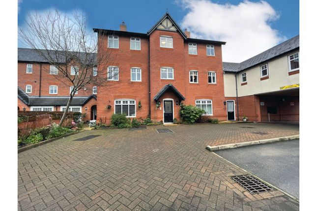 Thumbnail Flat for sale in Newhaven Court, Nantwich