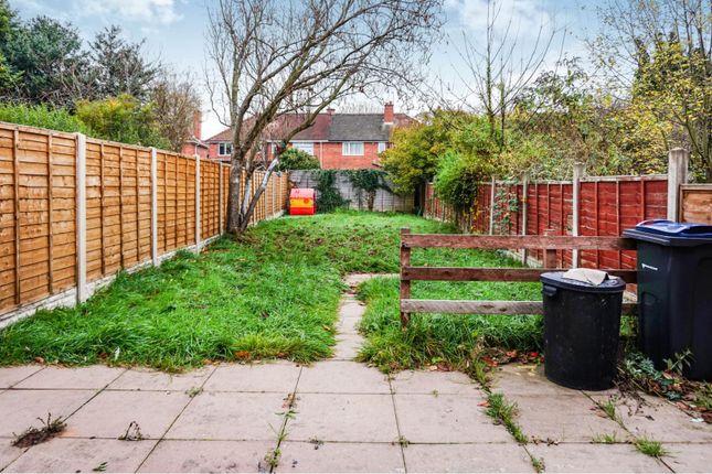 Rear Garden of Grindleford Road, Great Barr B42