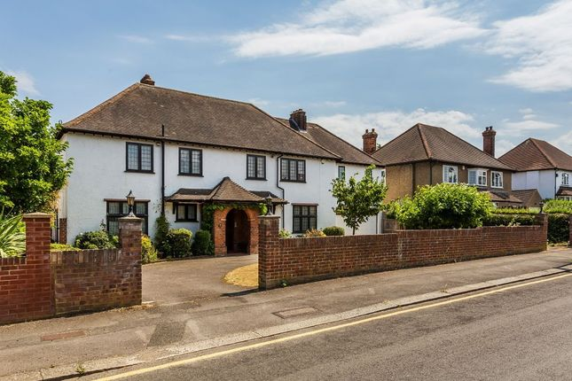 Thumbnail Detached house for sale in Manor Road, South Cheam, Sutton