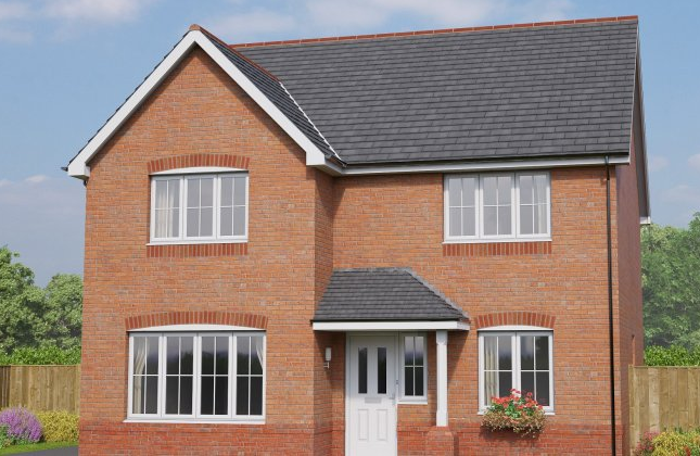 Thumbnail Detached house for sale in The Brecon, Eastern Road, Willaston, Cheshire