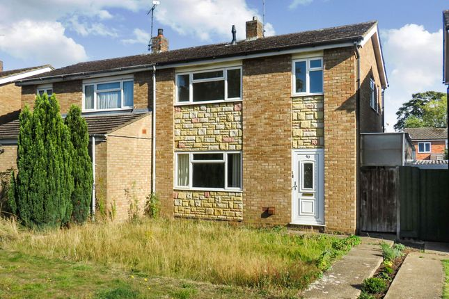 Semi-detached house for sale in Brookside Walk, Leighton Buzzard