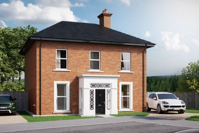 Thumbnail Detached house for sale in - The Dunrobin Westmount Park, Belfast Road, Newtownards