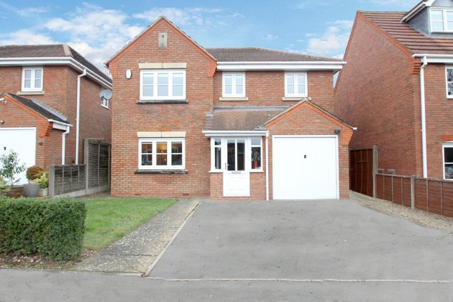 Thumbnail Detached house for sale in Huddesford Drive, Balsall Common, Coventry