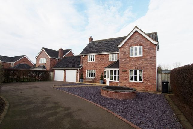 Thumbnail Detached house for sale in Hardingham Road, Hingham, Norwich