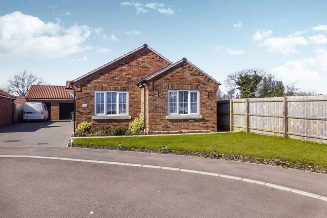 Thumbnail Detached bungalow for sale in Aspen Close, Martham, Great Yarmouth