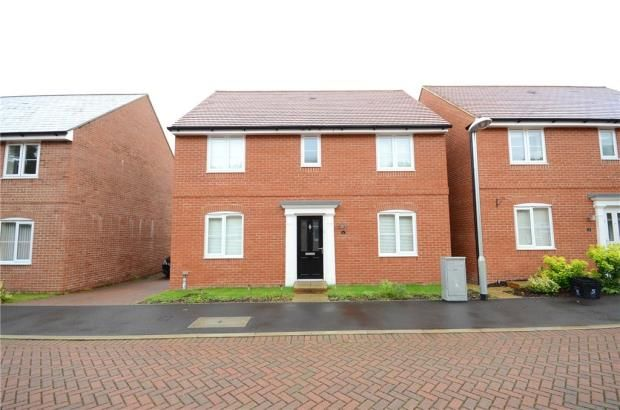 Thumbnail Detached house for sale in Roe Gardens, Three Mile Cross, Reading