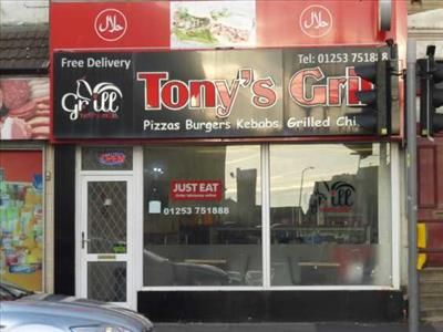 Thumbnail Restaurant/cafe to let in Tonyís Grill, 96A Central Drive, Blackpool