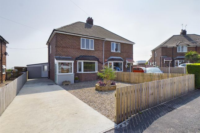Thumbnail Semi-detached house for sale in Wold View, Fridaythorpe, Driffield