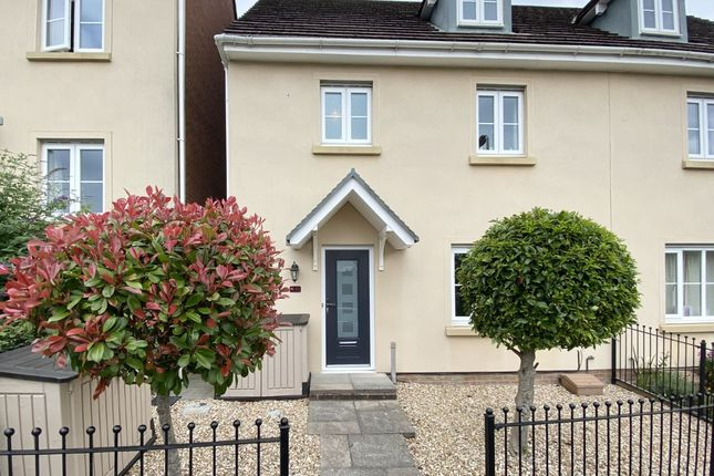 Thumbnail Semi-detached house for sale in Cae Coed, Aberdare, Mid Glamorgan
