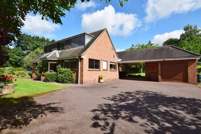 Thumbnail Detached bungalow for sale in Honeyknab Lane, Oxton, Southwell