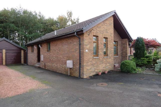 Thumbnail Detached bungalow for sale in 13 Lady Moss, Tweedbank, Galashiels