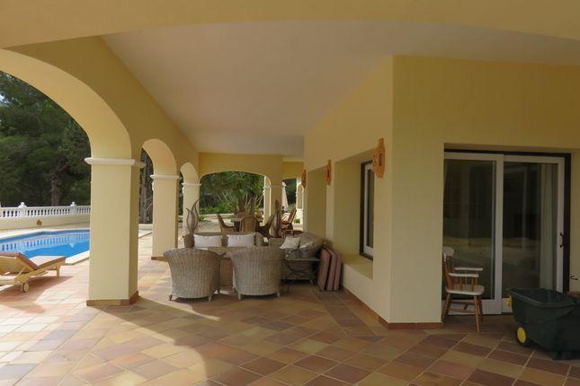 Covered Terrace  of San Agustin, San Jose, Ibiza, Balearic Islands, Spain