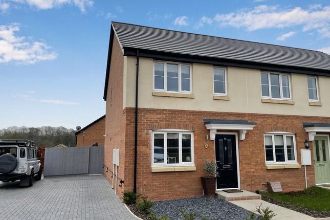 Thumbnail Town house for sale in Bottles Farm Close, Denby