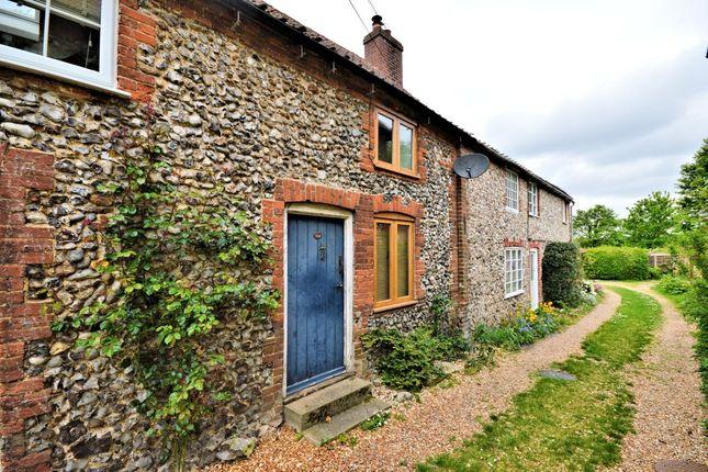 Thumbnail Terraced house for sale in The Street, Helhoughton, Fakenham