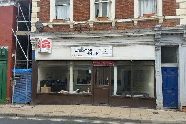 Thumbnail Retail premises to let in Walmgate, York City Centre