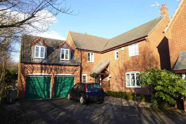 Thumbnail Detached house for sale in Coriolanus Square, Heathcote, Warwick