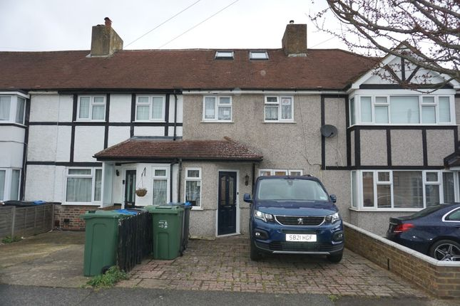 Terraced house for sale in Ashby Avenue, Chessington