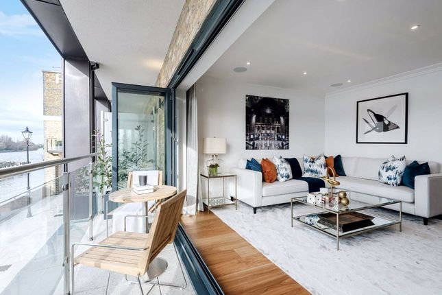Thumbnail Property to rent in Palace Wharf, Fulham, London