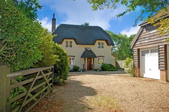 Thumbnail Detached house for sale in Forest Road, Burley, Ringwood