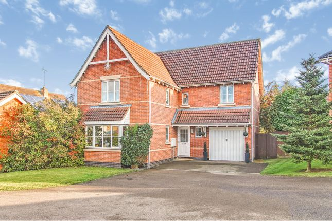 Thumbnail Detached house for sale in Kirkley Court, Haverhill