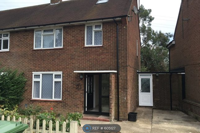 Thumbnail Semi-detached house to rent in Rotheram Avenue, Luton
