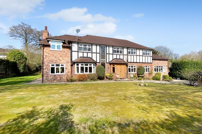 Thumbnail Detached house for sale in Adlington Road, Wilmslow