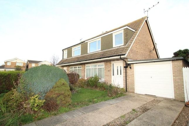 Thumbnail Semi-detached house for sale in Rosewood Close, Bridlington