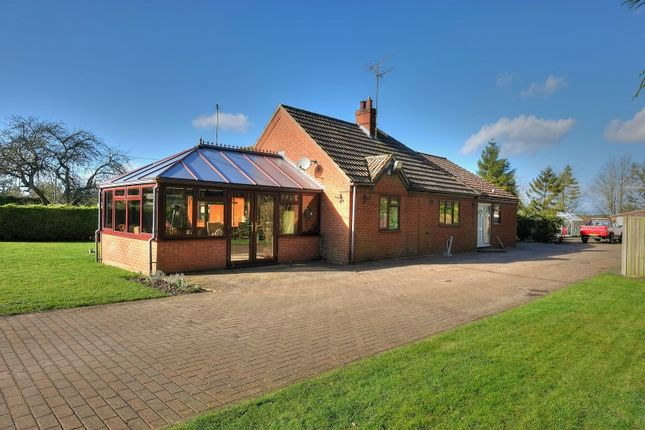 Thumbnail Detached bungalow for sale in Vicarage Road, Deopham