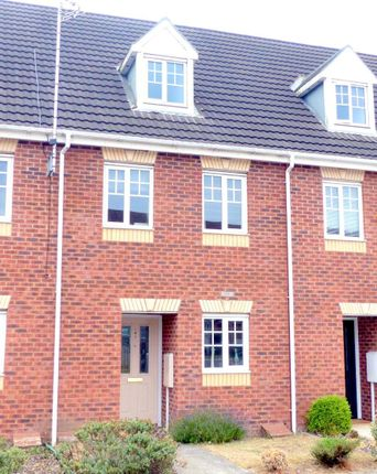 Thumbnail Town house to rent in Kings Walk, Mansfield