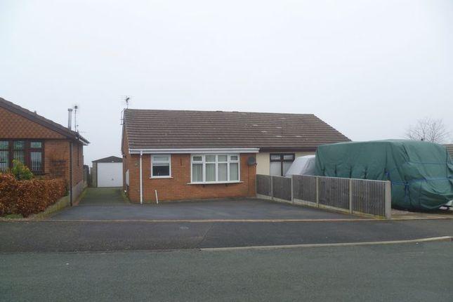 Thumbnail Detached bungalow to rent in Rennie Crescent, Cheddleton, Leek