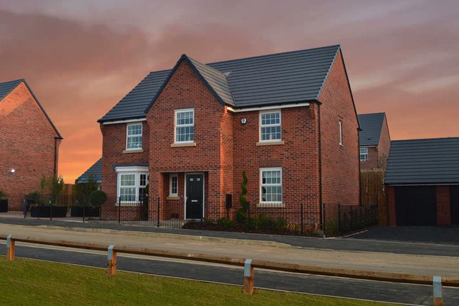 "Thumbnail Detached house for sale in ""Winstone"" at Nottingham Road, Barrow Upon Soar, Loughborough"