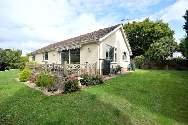 Thumbnail Detached bungalow for sale in Woolbrook Road, Sidmouth, Devon