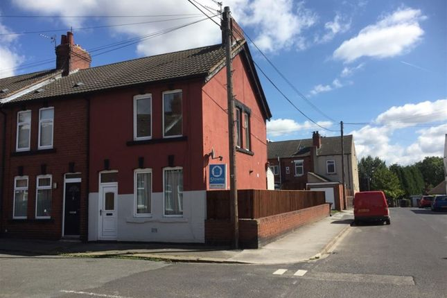 Thumbnail End terrace house to rent in Mill Street, South Kirkby, Pontefract