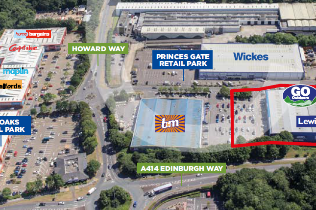 Thumbnail Retail premises to let in Princes Gate, Harlow