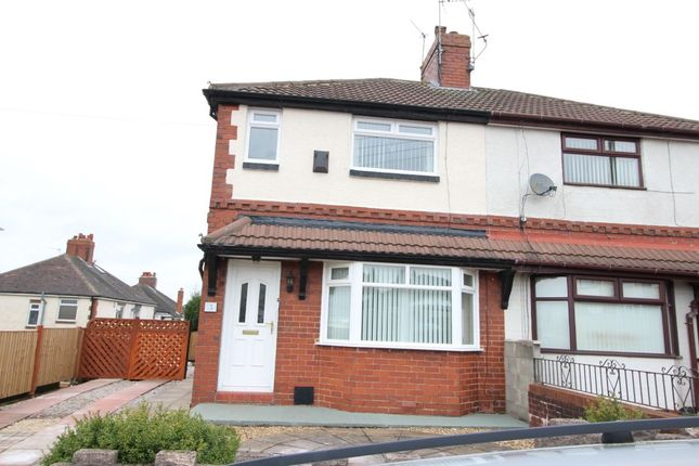 Thumbnail Semi-detached house for sale in Stoneleigh Road, Chell, Stoke-On-Trent