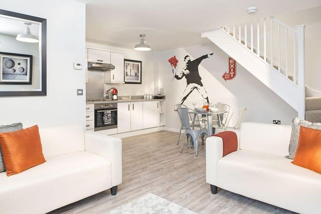 "Thumbnail Terraced house for sale in ""Opal"" at Captains Parade, East Cowes"