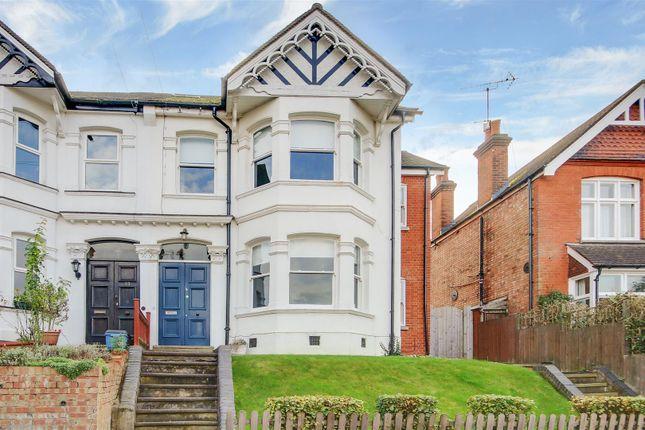 Thumbnail Semi-detached house for sale in Aldenham Road, Radlett