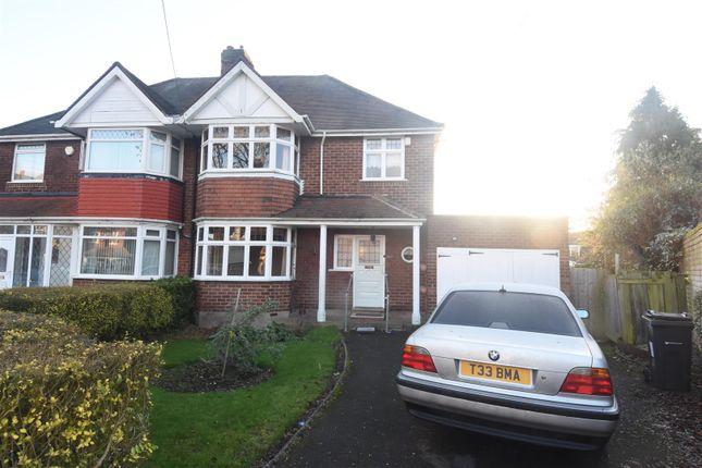 Thumbnail Semi-detached house for sale in Douglas Avenue, Hodge Hill, Birmingham