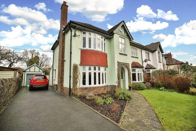 Thumbnail Semi-detached house for sale in Heol Creigiau, Creigiau, Cardiff