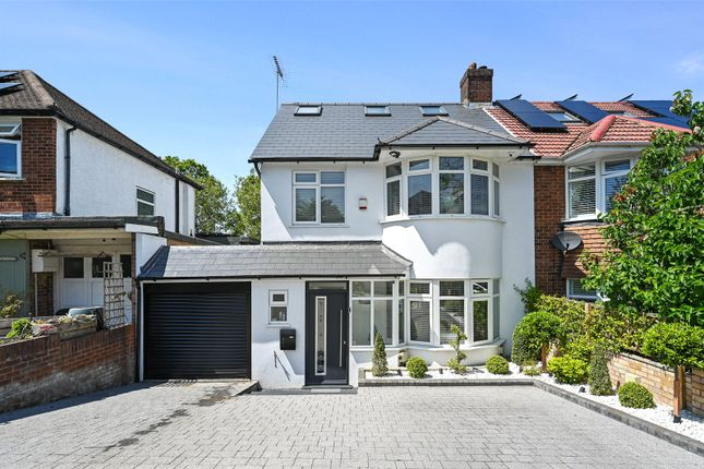 Thumbnail Semi-detached house to rent in Highland Road, Northwood, Middlesex